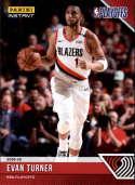 2018-19 Panini Instant NBA Playoffs #60 Evan Turner Portland Trailblazers  Print Run 65 Official Basketball Card ONLINE Exclusive