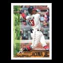 2019 Topps Throwback Thursday Baseball #104 Ronald Acuna Jr. Atlanta Braves  1995 Bowman Design ONLINE EXCLUSIVE PRINT RUN JUST 1105