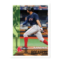 2019 Topps Throwback Thursday Baseball #105 Xander Bogaerts Boston Red Sox  1995 Bowman Design ONLINE EXCLUSIVE PRINT RUN JUST 1105