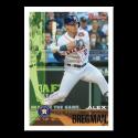 2019 Topps Throwback Thursday Baseball #106 Alex Bregman Houston Astros  1995 Bowman Design ONLINE EXCLUSIVE PRINT RUN JUST 1105