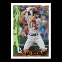 2019 Topps Throwback Thursday Baseball #108 Paul Goldschmidt St. Louis Cardinals  1995 Bowman Design ONLINE EXCLUSIVE PRINT RUN JUST 1105