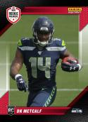 2019 Panini Instant RPS Rookie Premiere First Look FL19 DK Metcalf Seattle Seahawks RC