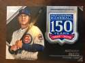 2019 Topps Series 2 150th Anniversary Commemorative Patch #AMP-AR Anthony Rizzo Chicago Cubs  Official MLB Baseball Trading Card BLASTER EXCLUSIVE