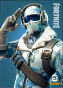 2019 Panini Fortnite Series 1 #268 Frostbite Legendary  Officially Licensed Video Game Trading Card