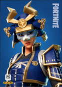 2019 Panini Fortnite Series 1 #270 Hime Legendary  Officially Licensed Video Game Trading Card