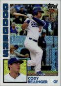 2019 Topps Series 2 Baseball Silver Wrapper Packs Chrome 1984 '84 Refractor #T84-23 Cody Bellinger Los Angeles Dodgers  Official MLB Trading Card