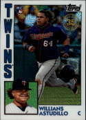 2019 Topps Series 2 Baseball Silver Wrapper Packs Chrome 1984 '84 Refractor #T84-25 Willians Astudillo RC Rookie Minneso Official MLB Trading Card