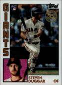 2019 Topps Series 2 Baseball Silver Wrapper Packs Chrome 1984 '84 Refractor #T84-36 Steven Duggar RC Rookie San Francisc Official MLB Trading Card