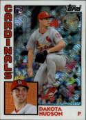 2019 Topps Series 2 Baseball Silver Wrapper Packs Chrome 1984 '84 Refractor #T84-39 Dakota Hudson RC Rookie St. Louis Ca Official MLB Trading Card