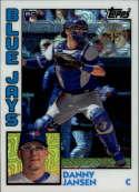 2019 Topps Series 2 Baseball Silver Wrapper Packs Chrome 1984 '84 Refractor #T84-43 Danny Jansen RC Rookie Toronto Blue  Official MLB Trading Card