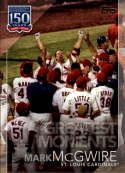 2019 Topps Series 2 150 Years of Baseball Greatest Moments #GM-5 Mark McGwire St. Louis Cardinals  Official MLB Trading Card
