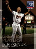 2019 Topps Series 2 150 Years of Baseball Greatest Players #GP-6 Cal Ripken Jr. Baltimore Orioles  Official MLB Trading Card