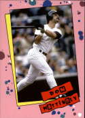 2019 Topps Throwback Thursday Baseball #143 Don Mattingly New York Yankees  1985 Cyndi Lauper Design Online Exclusive LIMITED PRINT RUN