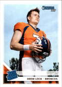 2019 Donruss Football Rated Rookie #303 Drew Lock Denver Broncos Official NFL Football RC Rookie Card