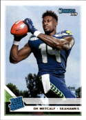 2019 Donruss Football Rated Rookie #313 DK Metcalf Seattle Seahawks Official NFL Football RC Rookie Card