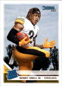 2019 Donruss Football Rated Rookie #335 Benny Snell Jr. Pittsburgh Steelers Official NFL Football RC Rookie Card
