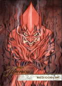 2019 Flair Marvel NonSport #100 Red Goblin SP Short Print Official Entertainment Trading Card From Upper Deck Flairium T Flairium Tier 1