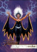 2019 Flair Marvel NonSport #101 Storm SP Short Print Official Entertainment Trading Card From Upper Deck Flairium Tier 2 Flairium Tier 2
