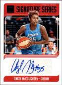 2019 Donruss WNBA Signature Series Press Proof #5 Angel McCoughtry Auto SERS199 Atlanta Dream  Official Panini Basketball Card
