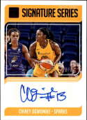 2019 Donruss WNBA Signature Series Press Proof #12 Chiney Ogwumike Auto SERS199 Los Angeles Sparks  Official Panini Basketball Card