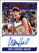 2019 Donruss WNBA Signature Series Press Proof #34 Nancy Lieberman Auto SERS99 Phoenix Mercury  Official Panini Basketball Card
