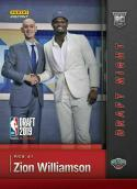 2019-20 Panini Instant Draft Night ZION WILLIAMSON First Rookie Card RC New Orleans Pelicans