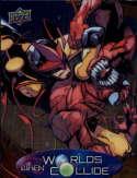 2015 Upper Deck Marvel Vibranium When Worlds Collide #WC-8 Nova/Carnage