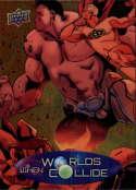 2015 Upper Deck Marvel Vibranium When Worlds Collide #WC-12 Hulk/Zoran