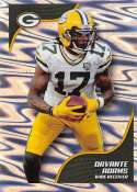 2019 NFL Stickers Collection #384 Davante Adams Green Bay Packers Foil (Small, Thin, Peelable Official Panini Sticker Football Card)