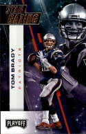 2017 Playoff Football Star Gazing #3 Tom Brady New England Patriots  Official Panini NFL Trading Card