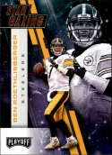 2017 Playoff Football Star Gazing #15 Ben Roethlisberger Pittsburgh Steelers  Official Panini NFL Trading Card