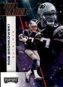 2017 Playoff Football Star Gazing #16 Rob Gronkowski New England Patriots  Official Panini NFL Trading Card