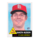 2019 Topps The MLB Living Set #219 Dakota Hudson RC Rookie St. Louis Cardinals  Official Baseball Trading Card with Facsimile Red Autograph on Back Co