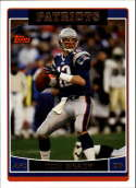 2006 Topps Football #150 Tom Brady New England Patriots  Official NFL Trading Card (Scan streaks are not on card, Stock Photos used, Card will be shar