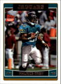 2006 Topps Football #377 Maurice Drew RC Rookie Jacksonville Jaguars  Official NFL Trading Card (Scan streaks are not on card, Stock Photos used, Card