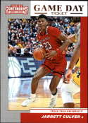 2019-20 Contenders Draft Picks Game Day Ticket #6 Jarrett Culver Texas Tech Red Raiders  Official Panini NCAA Collegiate Basketball Card (any streak o