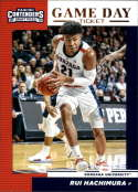 2019-20 Contenders Draft Picks Game Day Ticket #11 Rui Hachimura Gonzaga Bulldogs  Official Panini NCAA Collegiate Basketball Card (any streak on scan