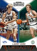 2019-20 Contenders Draft Picks Legacy #17 Larry Bird Boston Celtics/Indiana State Sycamores  Official Panini NCAA Collegiate Basketball Card (any stre