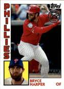2019 Topps Update Series Baseball 1984 Topps #84-38 Bryce Harper Philadelphia Phillies  Official MLB Trading Card