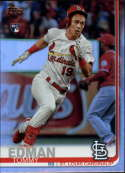 2019 Topps Update (Series 3) Rainbow Foil #US84 Tommy Edman RC Rookie St. Louis Cardinals Official Baseball Trading Card