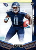2019 Playoff Football #210 A.J. Brown RC Rookie Tennessee Titans  Official Panini NFL Trading Card