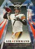 2019 Playoff Air Command Football #16 Ben Roethlisberger Pittsburgh Steelers  Official Panini NFL Trading Card