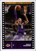 2019-20 Panini Basketball Stickers #364 Kyle Kuzma Los Angeles Lakers Official NBA Sticker Collection Album Peelable Card (Paper thin and approx 1.5 b