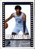 2019-20 Panini Basketball Stickers #382 JA Morant RC Rookie Memphis Grizzlies Official NBA Sticker Collection Album Peelable Card (Paper thin and appr