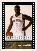 2019-20 Panini Basketball Stickers #402 Zion Williamson RC Rookie New Orleans Pelicans Official NBA Sticker Collection Album Peelable Card (Paper thin