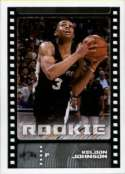 2019-20 Panini Basketball Stickers #468 Keldon Johnson RC Rookie San Antonio Spurs Official NBA Sticker Collection Album Peelable Card (Paper thin and