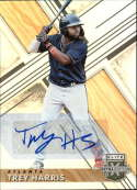2019 Elite Extra Edition EEE Autograph #178 Trey Harris Auto Atlanta Braves  Official Collegiate Licensed Panini Baseball Trading Card