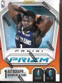 2019-20 Panini Prizm NBA Basketball Sealed Blaster Box Chase Zion Williamson Silver and Auto Cards!
