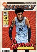 2019-20 Donruss NBA Net Marvels #9 Ja Morant Memphis Grizzlies  Official Panini Basketball Trading Card