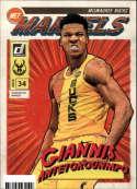 2019-20 Donruss NBA Net Marvels #11 Giannis Antetokounmpo Milwaukee Bucks  Official Panini Basketball Trading Card